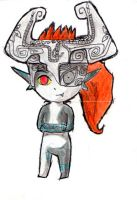 Wind Waker style Midna by Ana-the-beatlemaniac