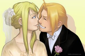 Fullmetal Wedding by Koklico