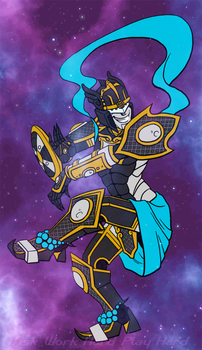 Trickster God of Twilight and Dance by Res-Gestae