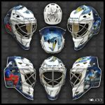 G1 Transformers Goalie Mask by ruddiger