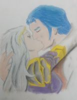 Jaina and Kalecgos by Konack1