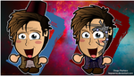 Doctor Who - Mr Clever Chibi Wallpaper by kapaeme