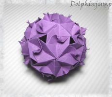 Day 3- Gekkin kusudama by dolphinjump