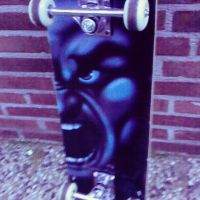My old and firts skateboard by MysteriouSxDreameR