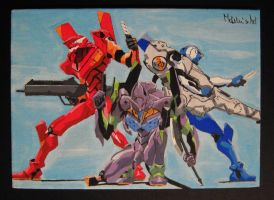 Evangelion by MartyGallo