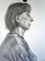 Old woman VII by Infinitely