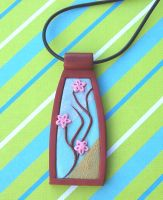 Cherry Blossom Pendant by Gemini-Artworks
