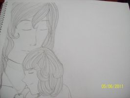 Mother and daughter by erethusianelf