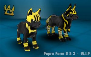 Pupra Form 2 and 3 by PolyMune