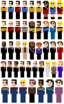 Star Trek Sprites (Main Televised Series) by NitroBlaster96