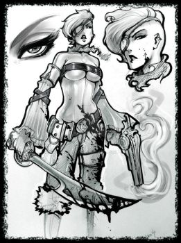 Random Pirate char of the day by reiq