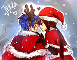 Jerza Christmas doodle by blanania
