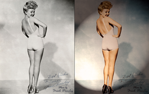 Betty in Colour. Before + After by MatchCut