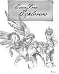 Cover page for Everfree Explorers by BIackFang