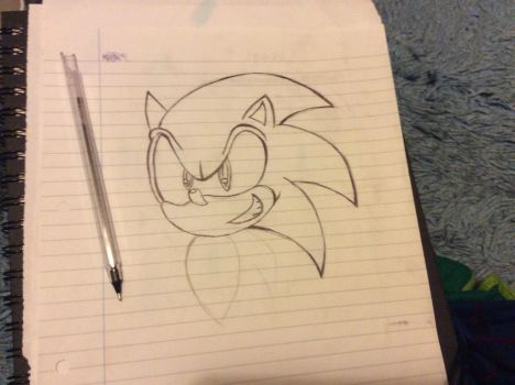 Sonic by BlueArtist680
