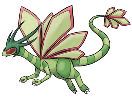 Mega Flygon by TheCompleteAnimorph