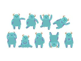 sully - monsters inc. by bethydesigns