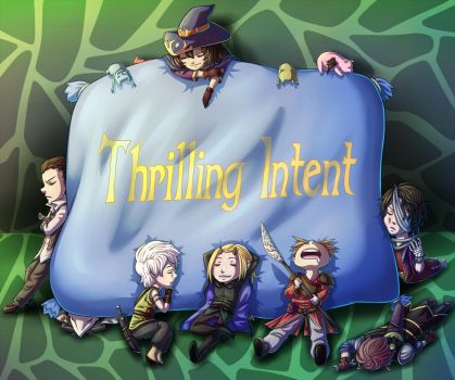 Thrilling Intent Slumber Party by BitterSweetKitty