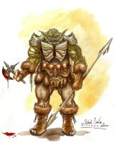 Orc Soldier by Ricardofantasyart
