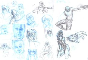 SketchDump by kenfan0206