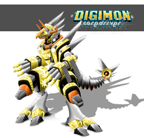 Riderdramon Superior Mode by LuRocha