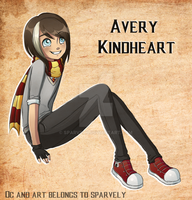 Harry Potter OC: Avery Kindheart by Sparvely
