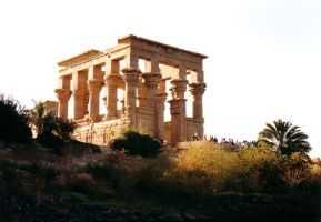 Philae - Temple of Isis by dark-spider