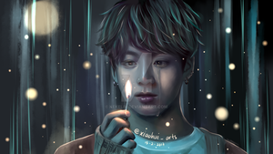 BTS Jungkook Fanart (Light The Way) by KekeLiv
