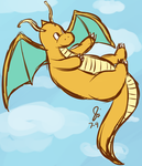 Dragonite by just-juju