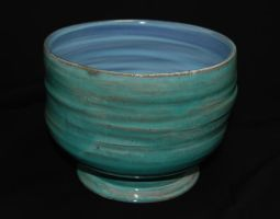 Turquoise Pot by CaptainColossal