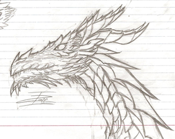 Alduin by InvaderZaff
