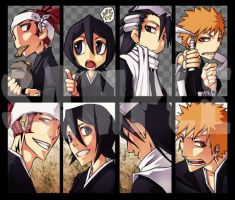bleach - keychain 09-1 by pandabaka