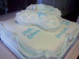 Christening Cake A by missblissbakery