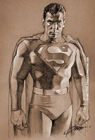 Superman by SteveStanleyArt