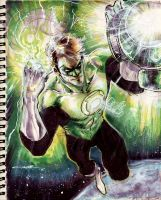 Sketch 31 : Green Lantern by Cinar
