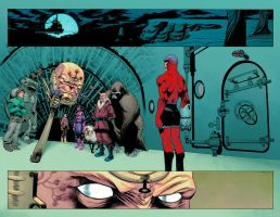 Deadpool 55, pages 5 - 6, colors by Inkpulp