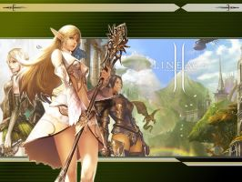 Lineage II Wallpaper by SacredHavens