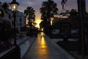 Canarian sunset by Kalia24