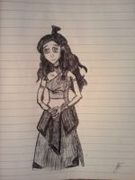 Katara sketch by Tylantta9