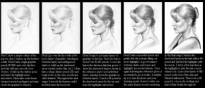 Portrait tutorial WIP by imaginee