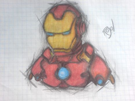 Iron Man by Rojoliido