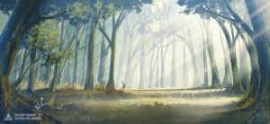 Forest by ombobon