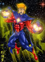 COSMIC POWER QUASAR by WOLVERINE76