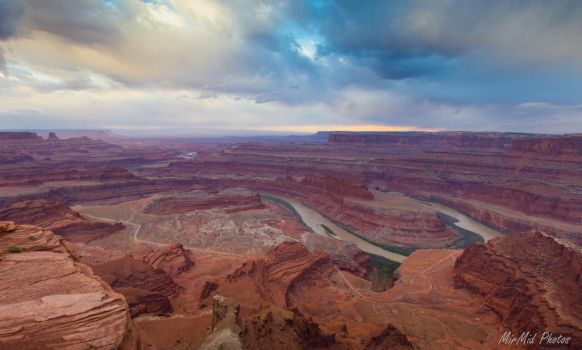Storm Over Dead Horse Point by MirMidPhotos