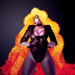 Black Canary Lava Hair by mehdianim
