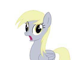 Derpy amazed face by KissOfMint