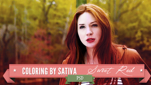 Sweet Red Coloring [PSD] by Rainbowepidemic