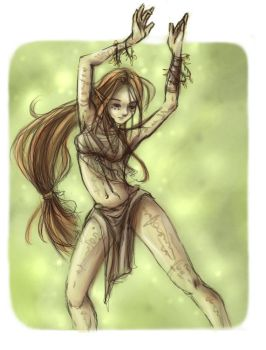 Forest Dancer by chishirou