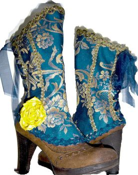 Bavarian Spats French Blue by MAIDESTREASURIES