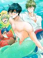 [Free!] the little mermaid by a-zebra-was-here